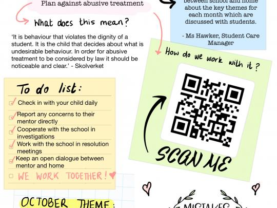 Our proactive Student Care Team, led by Ms Georgia Hawker, will be creating a monthly Newsletter. Here is the very first edition!